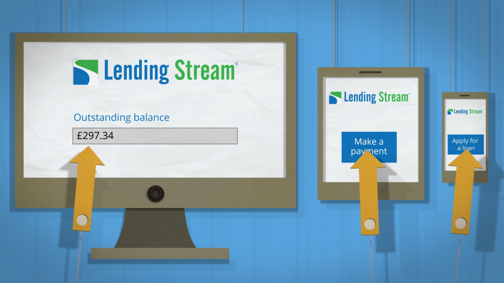 Lending Stream animated explainer video - Lost Marble Media Devices