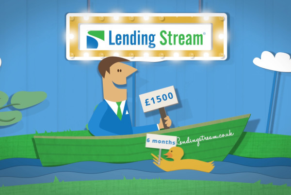 Lending Stream animated explainer video - Lost Marble Media duck