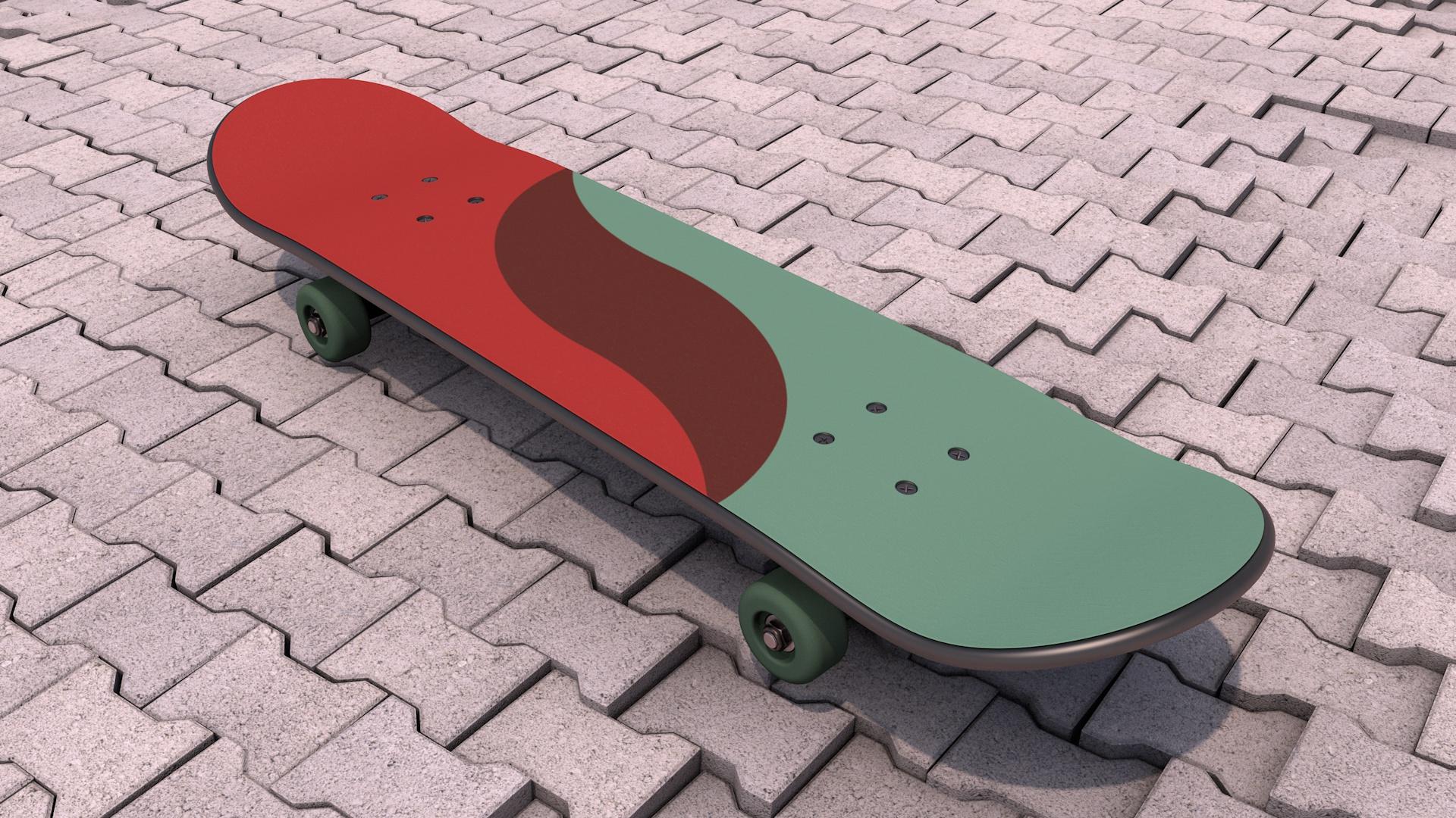 Skateboard loop